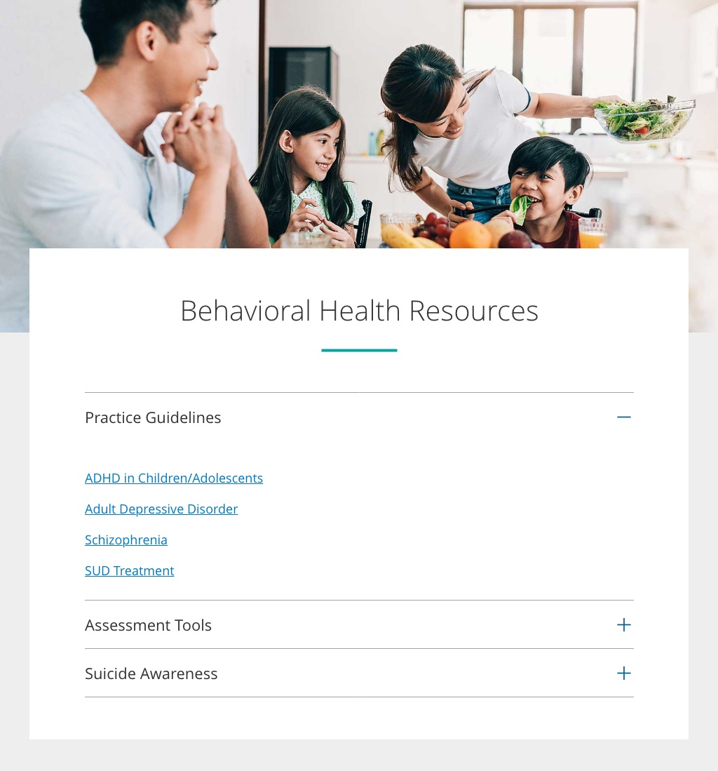 Behavioral Health Resource